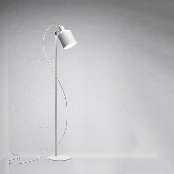 SILO Gulvlampe 135 cm, Hvit, Zero