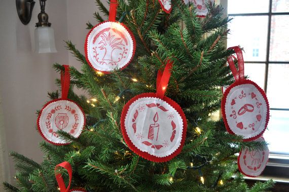 Jesus, Trees and Ornaments on Pinterest