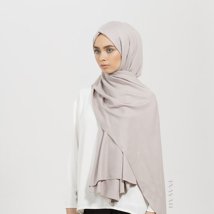 INAYAH   Enjoy wearing our new collection of rayon #hijabs now available in a range of subtle and cool colours. This Feather Grey Rayon Hijab is a definite must-have! Visit www.inayah.co to browse our new range of styles and colours.