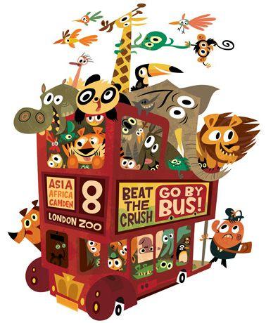 Chris Garbutt -- zoo bus