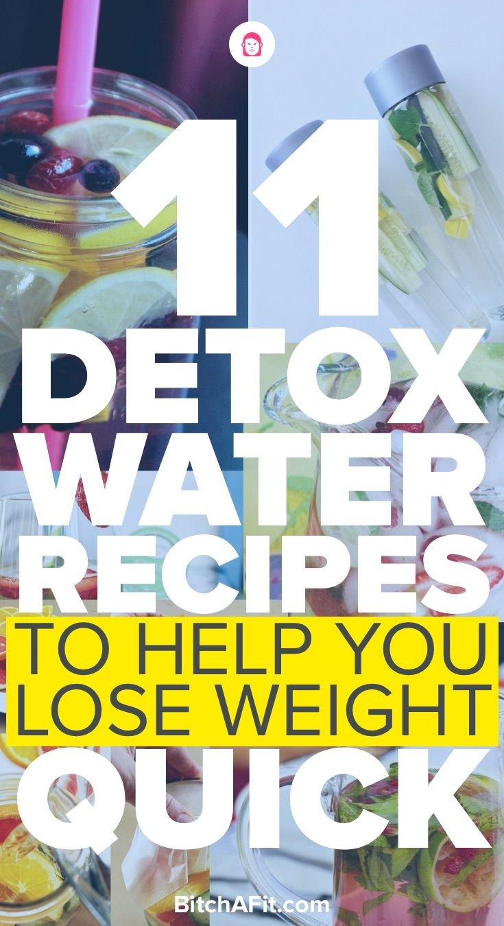 Looking for some detox water recipes that will help you lose weight? Here are 11 detox water recipes that will clear your skin, flush toxins, increase metabolism, and make you feel great.