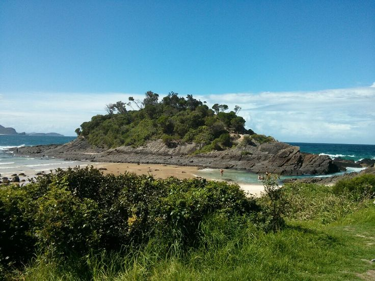 Seal Rocks in Forster, NSW
