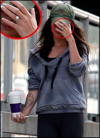 Megan Fox Wedding Ring