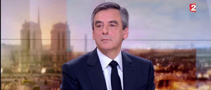 Après la manifestation organisée pour son soutien au Trocadéro, François Fillon était l'invité du JT de France 2. L'occasion pour lui de renouveler sa volonté de représenter les Républicains lors de l'élection présidentielle.