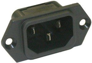 Interpower 8301213 IEC 60320 C14 Screw Mount Power Inlet with Quick Disconnects, IEC 60320 C14 Socket Type, Black, 10A/15A Rating, 250VAC Rating -   - http://homesegment.com/home-kitchen/heating-cooling-air-quality/air-conditioners-accessories/interpower-8301213-iec-60320-c14-screw-mount-power-inlet-with-quick-disconnects-iec-60320-c14-socket-type-black-10a15a-rating-250vac-rating-com/