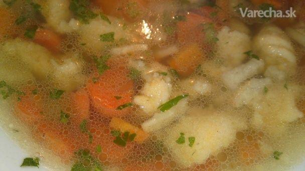 Krupicové halušky do polievky (fotorecept) - Recept