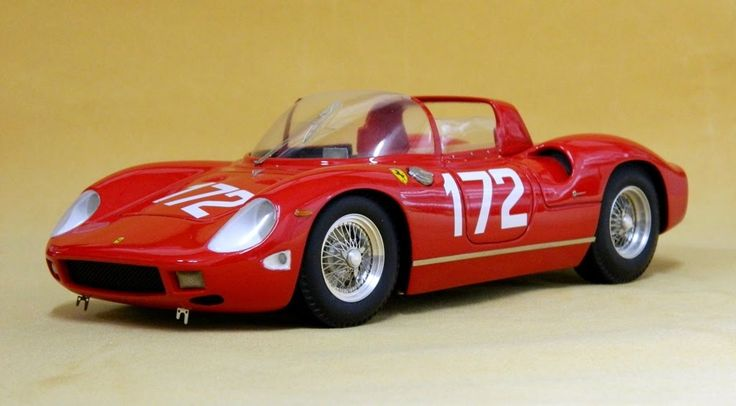 S45 Ferrari 250P Targa Florio 63 #172 ritired Mairesse-Scarfiotti Limited 20 - V12 Sportmodels