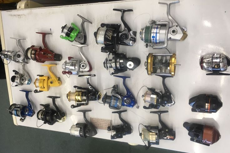 21 fishing reels. Penn,Shakespeare,Daiwa,eagleclaw,quantum,Mitchell.for parts. | eBay