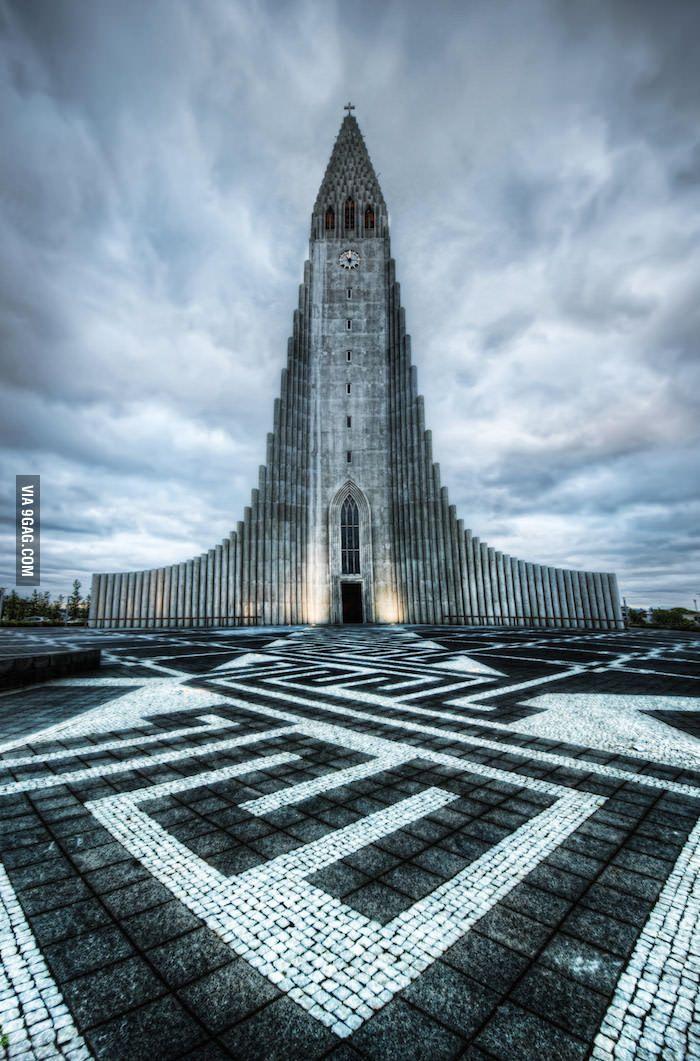 The Church of Hallgrimur | Reykjavik, Iceland - 9GAG