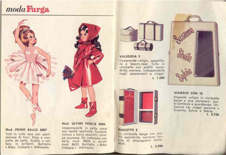 BAMBOLE FURGA TRE ESSE: CATALOGO 1965 pag 10 di 10