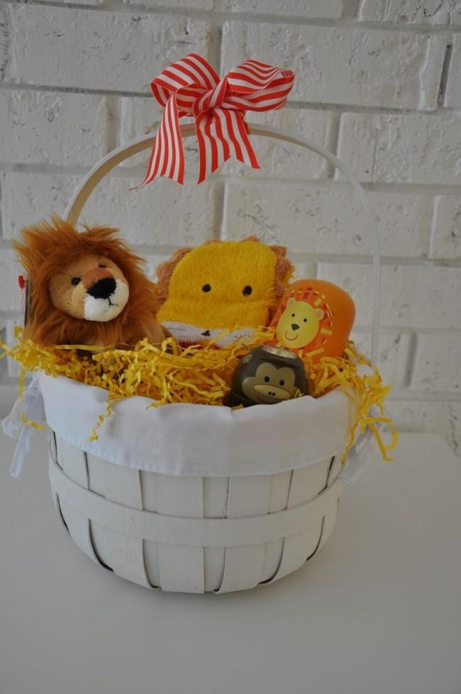 37 best easter basket ideas images on pinterest easter basket safari themed easter basket negle Choice Image