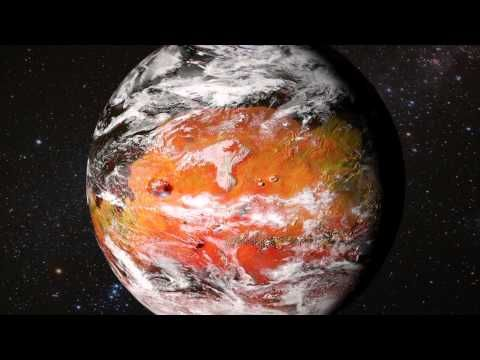 MODIFIED MARS TERRAFORMING ANIMATION -  It's hard to believe that just a few centuries ago Mars was a lifeless place. Only a few people were aware of the immense promise of terraforming Mars.   Just over 200 years later, rivers are running once more through ancient valleys, ocean waters are washing a long and capricious shoreline, forests are working their way up on magnificent slopes.This Modified Mars is a home to millions of people and the Solar System's favorite tourist destination.