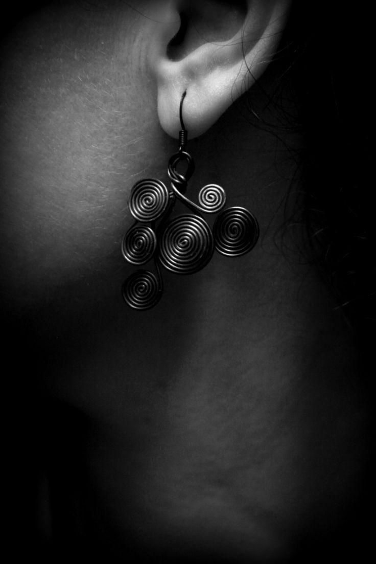 Drôtené náušnice