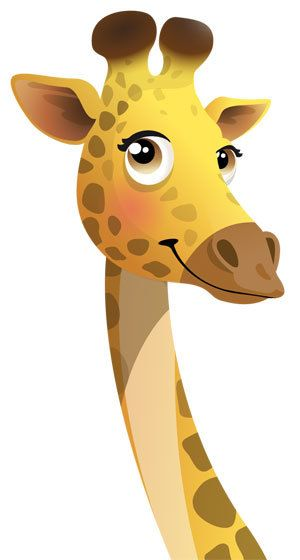 Les 25 meilleures id es de la cat gorie dessin de girafe - Dessin de girafe en couleur ...
