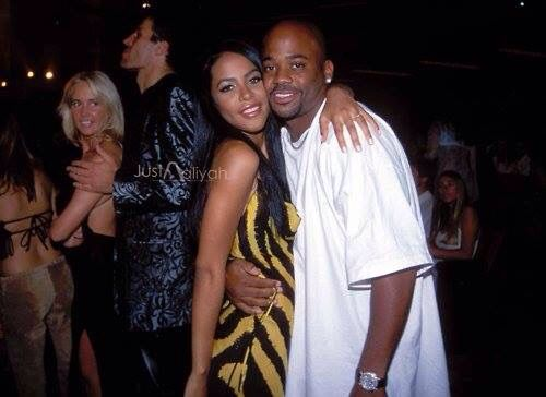 Aaliyah and Damon a Dash