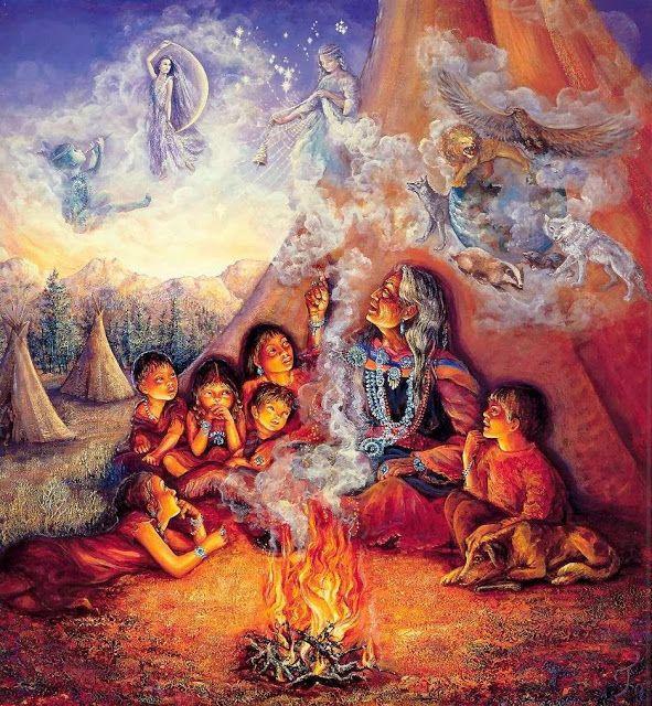 Nosso  Feminino Sagrado:      Diante do fogo e do tabaco:  O que dizer dian...