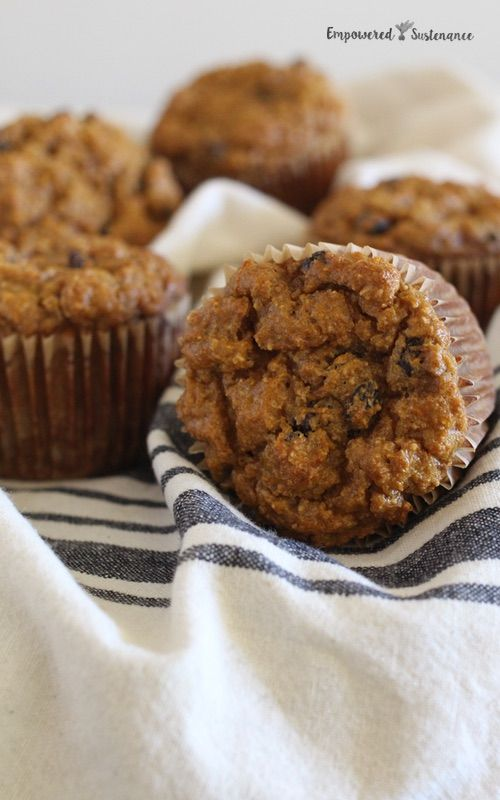 Paleo Carrot Muffins