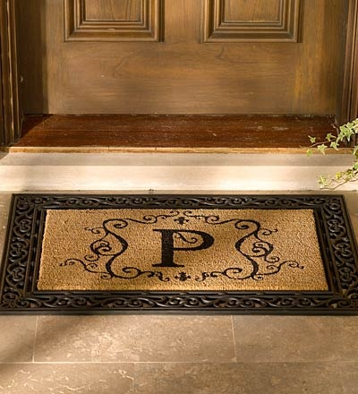 Weather Resistant Decorative Rubber Door Mat Base And