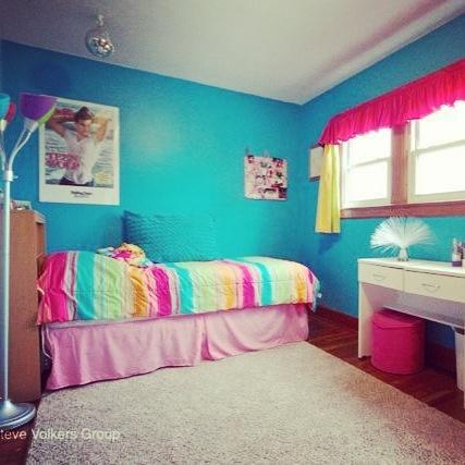My Bedroom :) Blue And Rainbow Theme