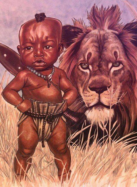Xangô e o Leão