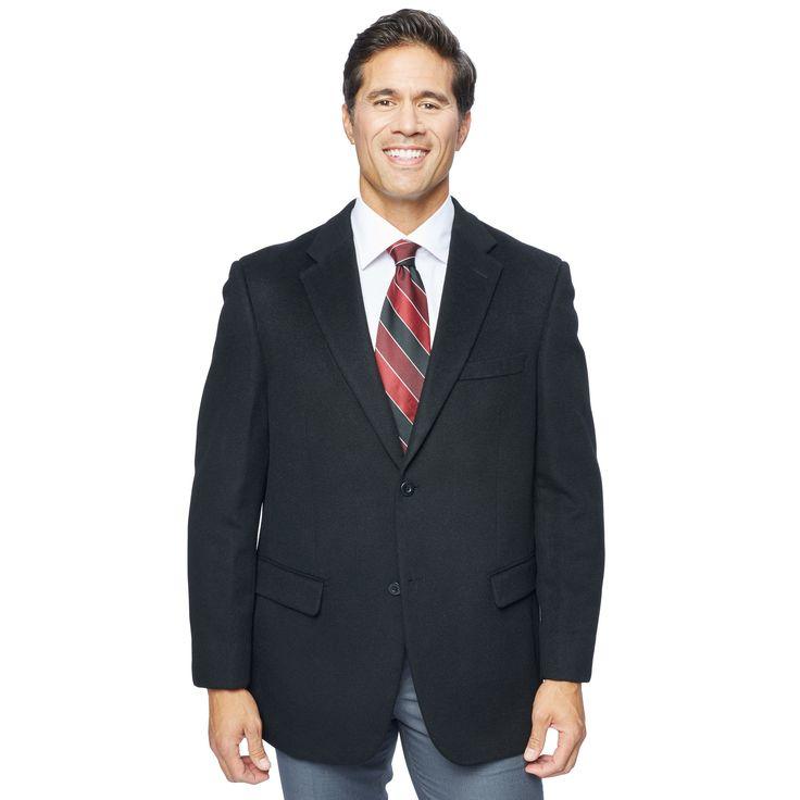 Pronto Moda Men's Wool/ Blend Sportcoat