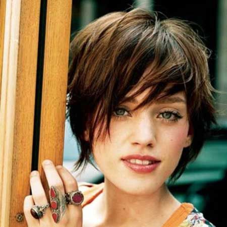 Pictures of Short Haircuts with Bangs | Short Hairstyles 2014 | Most Popular Short Hairstyles for 2014