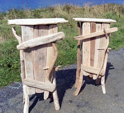 Driftwood Cabinets...they Walked Off The Beach · Twig FurnitureDriftwood  FurnitureDriftwood CraftsFurniture IdeasDrift ...