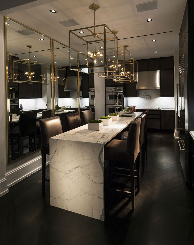 luxury modern dining room