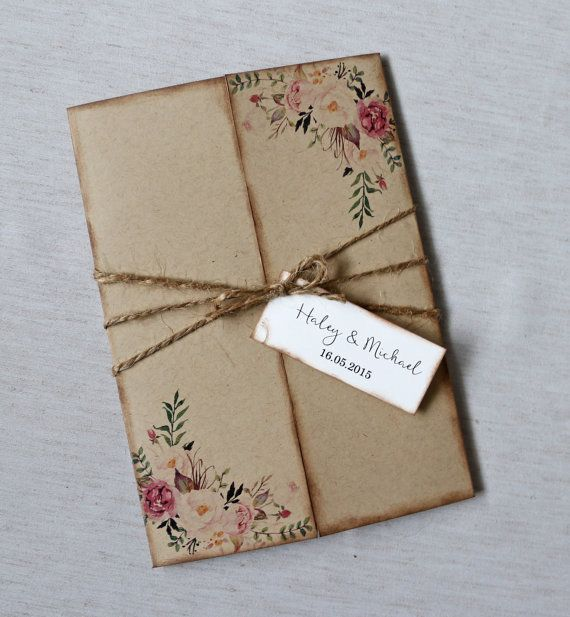 the 25+ best bohemian wedding invitations ideas on pinterest, Wedding invitations