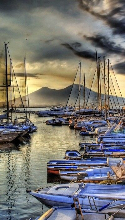Naples, Italy.  We loved Naples...were invited to go back and spend time in nearby Sorrento