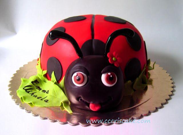 Torturi artistice: Ladybug