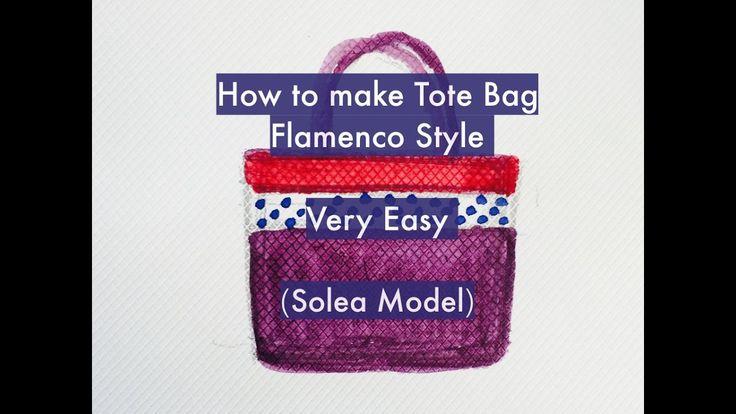 DIY Flamenco Tote Bag