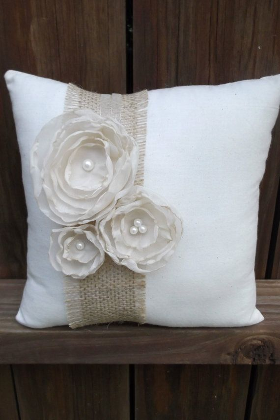 @Audrey Smith , here s another idea - cute Ring Bearer Pillow by ChicLittleSomethings on Etsy ...