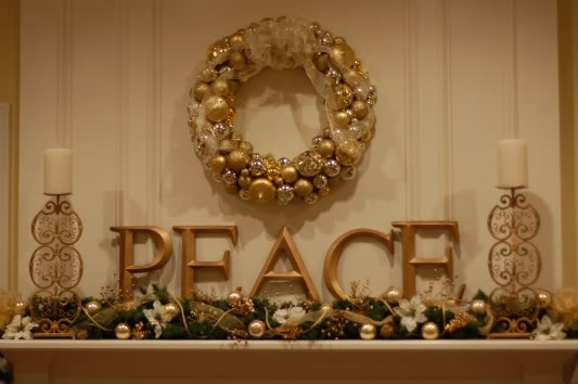 New mantle #Christmas #mantle