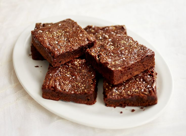 Salted Caramel Brownies (a la Baked!)