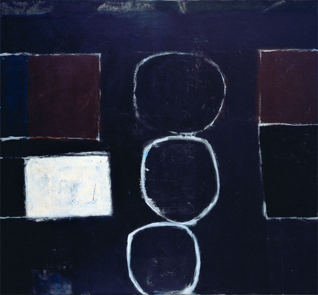 William Scott, Untitled, 1961, Oil on canvas, 172.7 × 160 cm / 68 × 63 in approx., Private collection