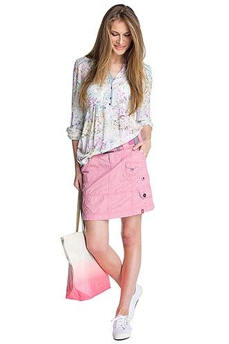 edc - katoenen rok met riem kopen in de online shop
