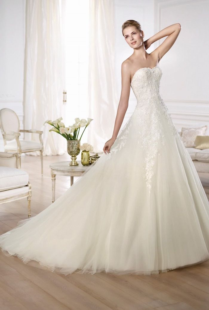22 best Pronovias images on Pinterest | Hochzeitskleider ...