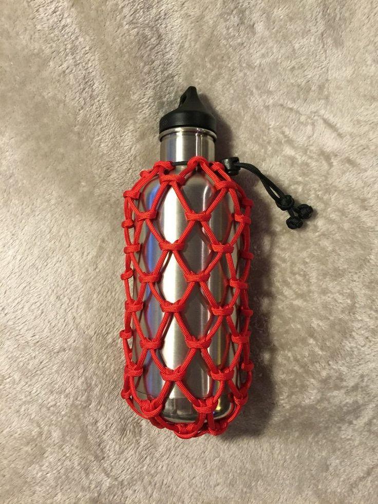 105 best DIY Paracord Bottle Holder Ideas images on ...