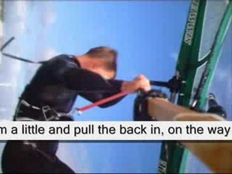 Backloop, how to? With text. boom cam. head cam. Windsurf