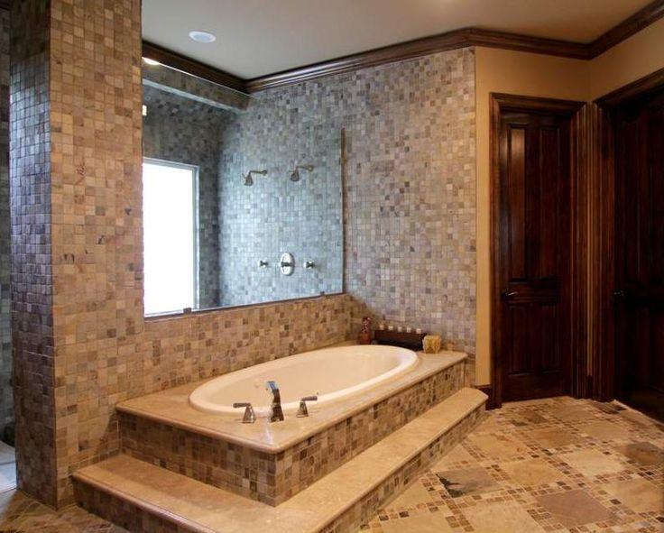 Master Bathroom Natural Stone best 25+ natural stone bathroom ideas on pinterest | stone tub