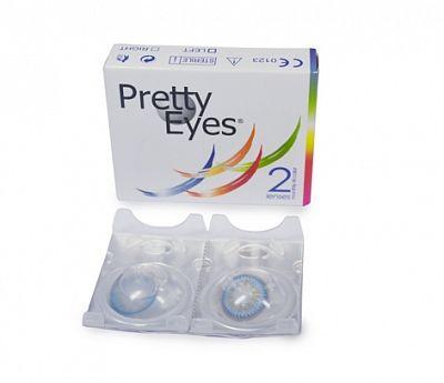 Pretty Eyes Kleurlenzen - 1 Maand Blauw  1 Paar Maandlenzen Blauw Pretty EyesPerfect om op een party de show te stelenMERK: Pretty  EUR 15.20  Meer informatie