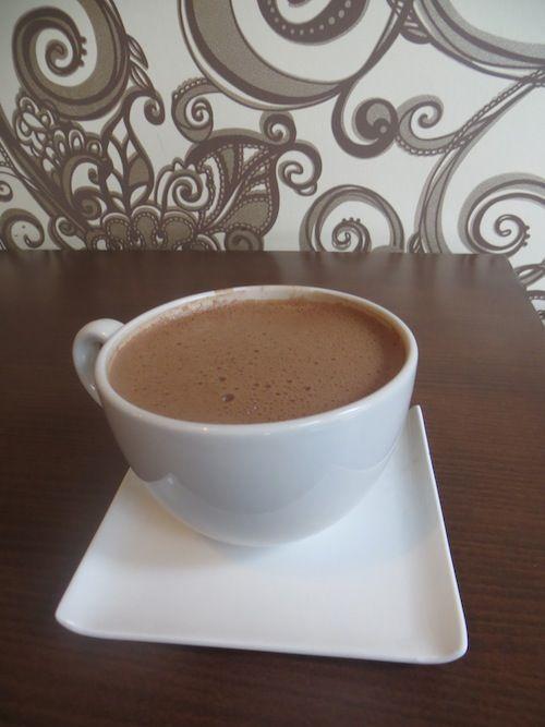 Hot Chocolate at Cacao70, Ottawa, Canada