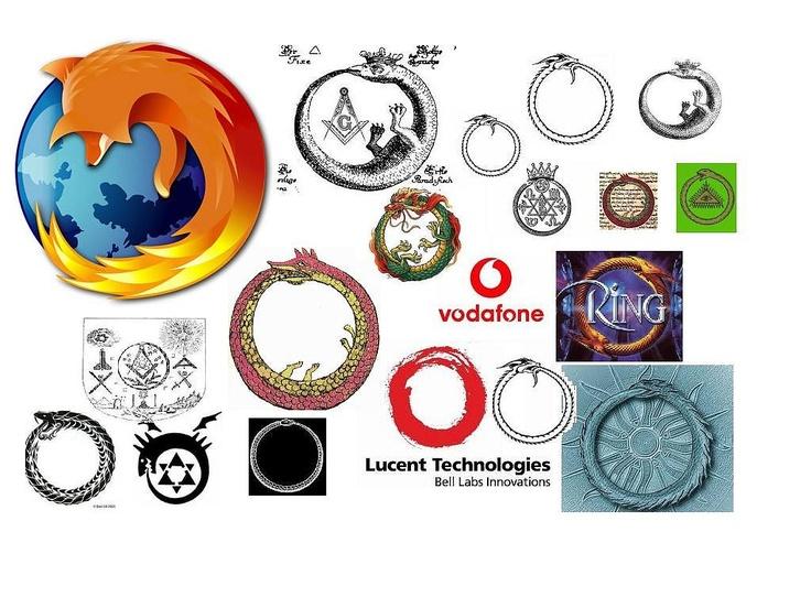 illuminati symbols | ... Manipulation: Ouroboros Occult Satanic-Masonic Illuminati Symbolism
