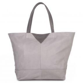 Nat+Nin June bag in Pebble Grey- Made in Paris