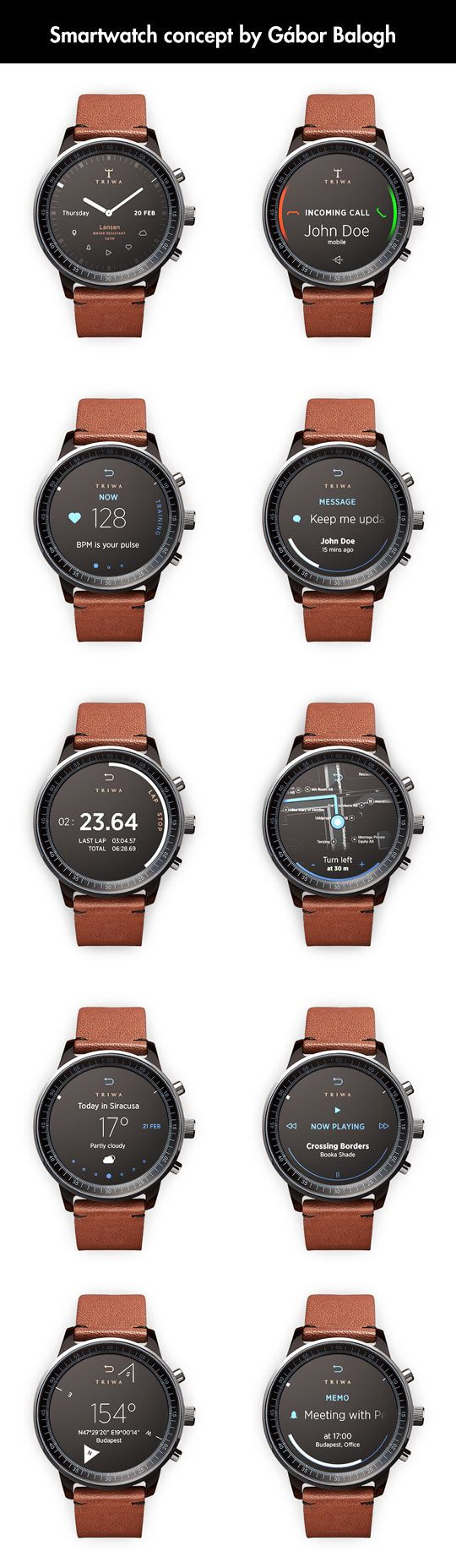 156 best smart watch interface wearables images on pinterest