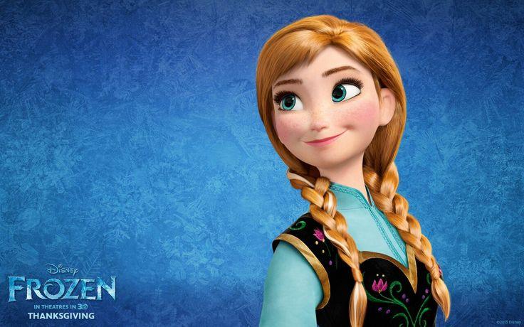 Disney Frozen 2013 film Braid hair Cartoons Girls