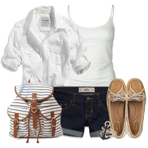 """A Day on the Cape"" by ohsnapitsalycia on Polyvore"