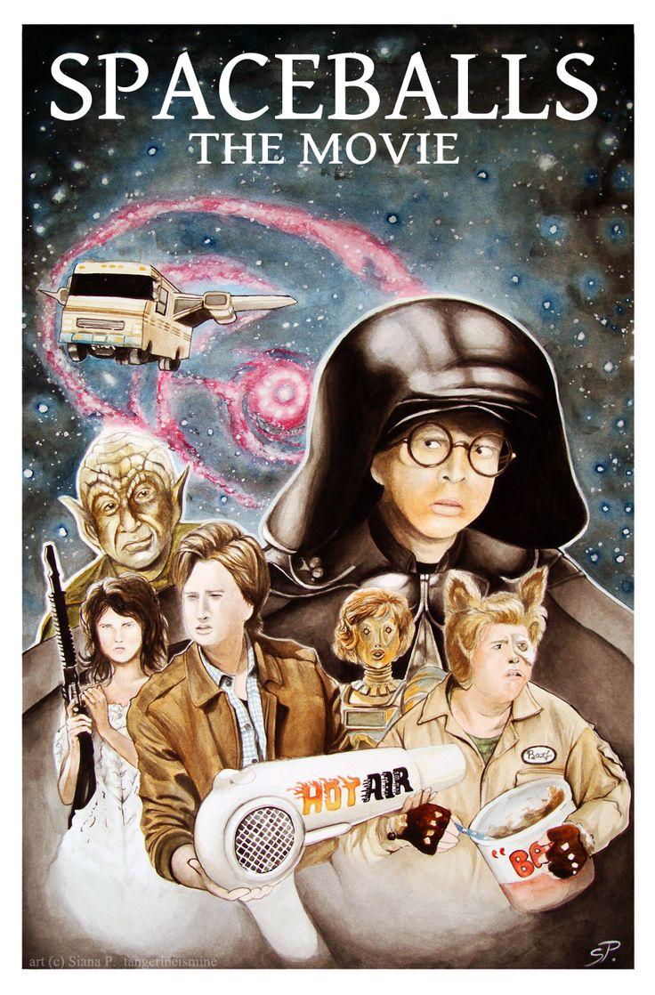 spaceballs movie posters | Spaceballs Poster by ...