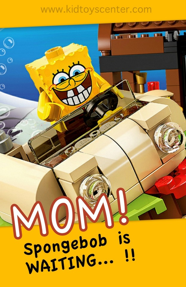 Who doesn't want a Spongebob toy? Grab this Spongebob Lego now...